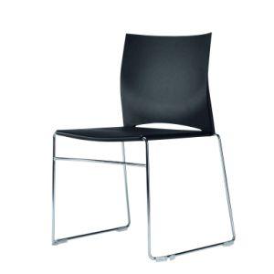 Sid stapelstoel zwart
